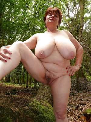 Nude mature women and grannies on the..