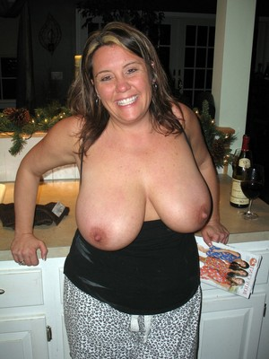 Fackuble milf with huge boobs. Only..