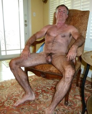 Watch my big mature dick