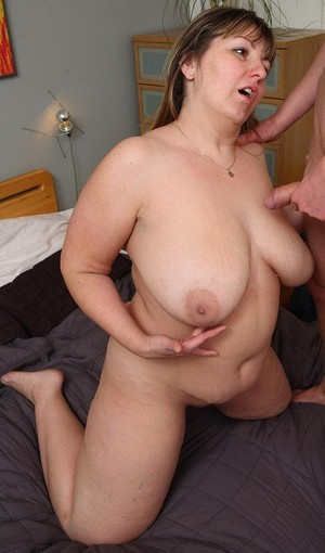 milf in stockings gets fingered and..