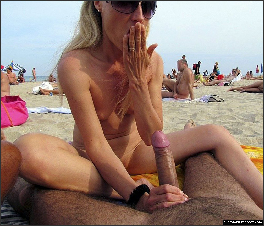 amateur sex on the beach. mature