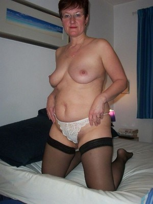 Look at my nude mature wife